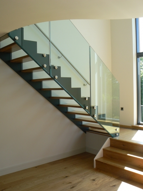 Staircase Glass Railing Designs Contemporary Modern Home Decorating Ideas Photo 40