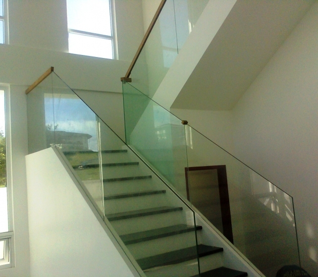 Staircase Glass Railing Designs Frameless Glass Stair At Ayala Westgrove Sta Rosa Laguna Pics 06