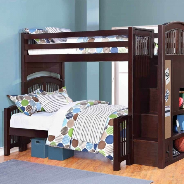 Style Of  Twin Bunk Beds With Stairs Images 97