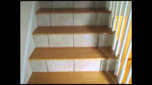 Tile Stair Risers Installation Basement Floor Images 96