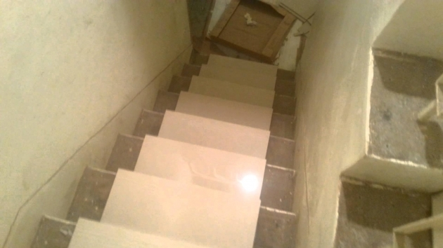 Tile Stair Risers Installation Ideas Photo 44