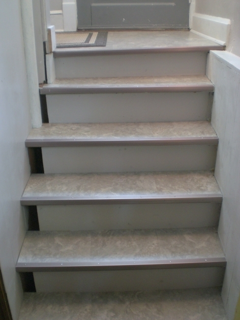 Tile Stair Risers Installation Stairs Are Mastered Photos 14