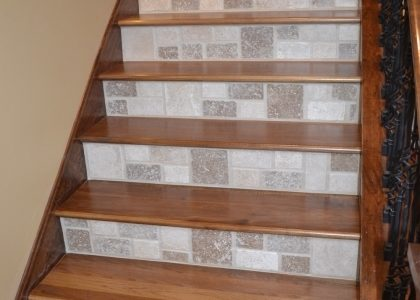 Tile Stair Risers Installation