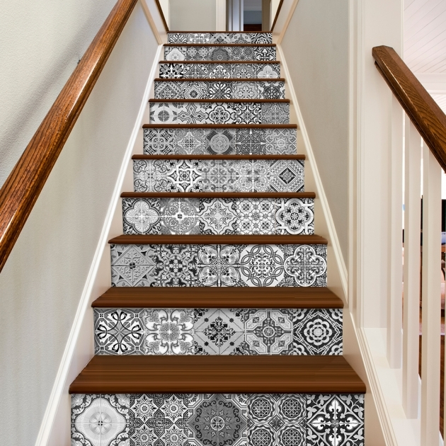Tiles On Stairs Wall Portuguese Tiles Azulejos Stickers Images 13