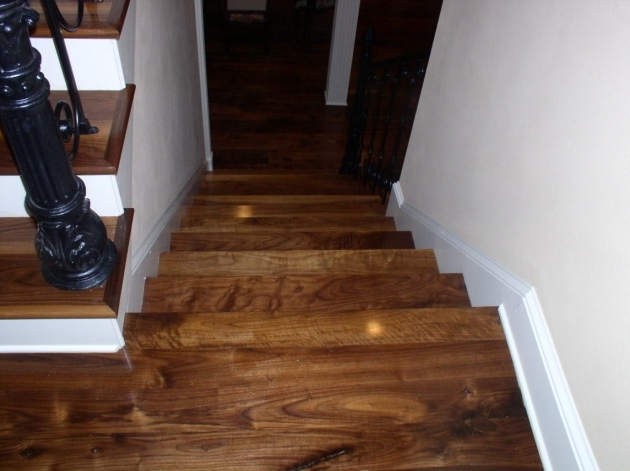 Tiles On Stairs Wall Wide Plank Solid Hardwood Flooring Tiles In Stairs With White Wall Images 68