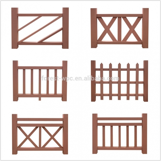 Wood Railing Balcony Railing Design Decorative Outdoor Pics 69