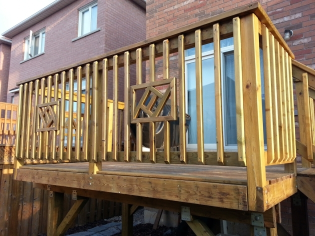 Wood Railing Decks Stair Design Images 93