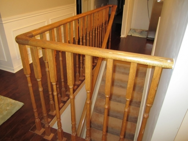 Wood Railing Design And Wooden Pattern Floor Picture 30