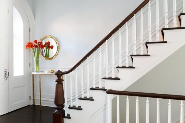 Wood Stair Railing Chango And Co Park Slope Brownstone Pictures 91