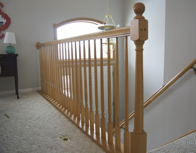 Wood Stair Railing Design Ideas Pictures 40