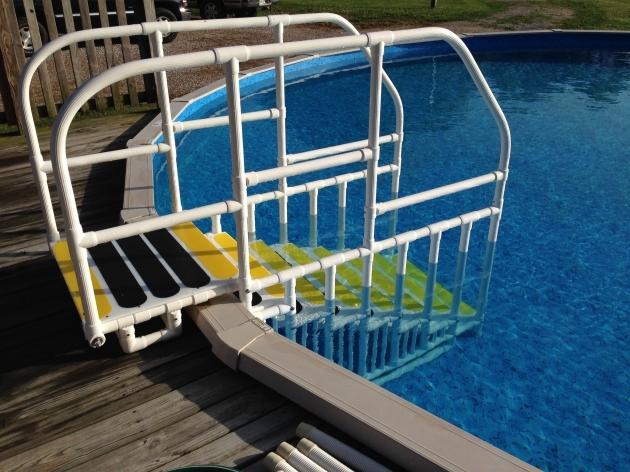Above Ground Pool Stairs Ladder  Photos 21