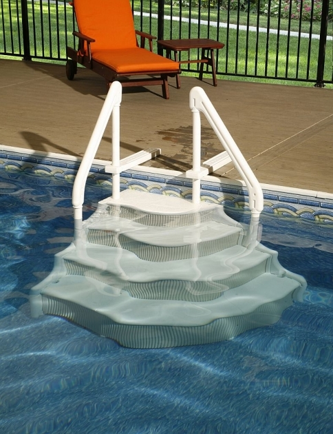 Above Ground Pool Stairs Steps Image 87