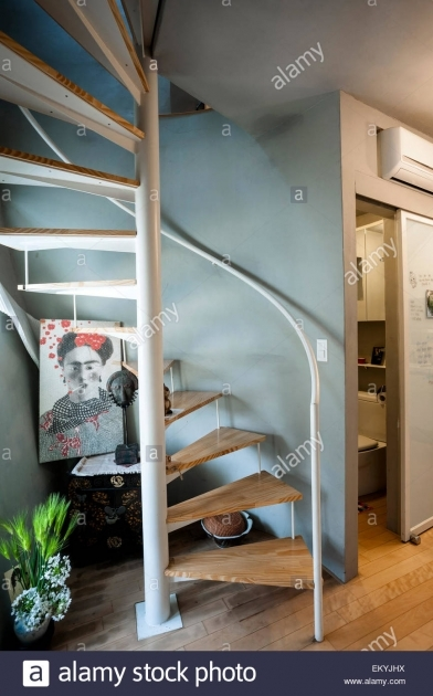 Area Mongdang House Extreme Tiny House Spiral Staircase EKYJHX Image 76