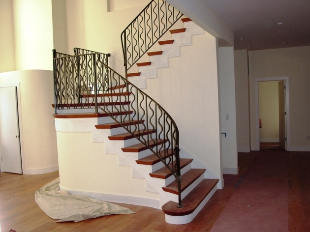 Awsome Decorating Stair Design For Small House Photos 58