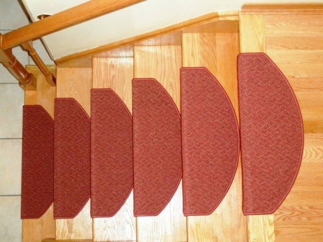 Beautiful Red Carpet Stair Treads Images 73