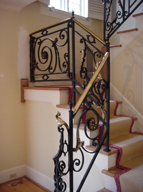 Best Iron Stair Railing Ideas Stair Grill Design 23