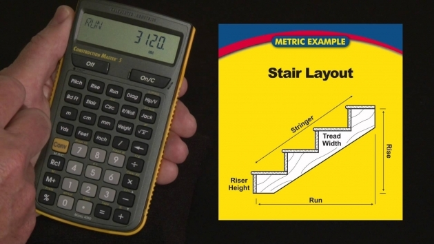 Construction Master 5 Metric Stair Layout Stair Design Calculation Images 89
