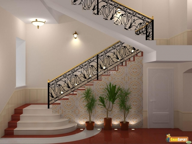 Contemporary Interior Stair Railing Kits Design Ideas Images 06