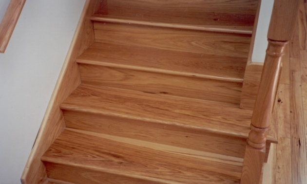 Cork Hardwood Flooring Laminate Stair Treads Image 08