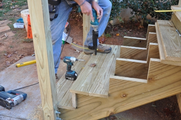 Deck Stairs Calculator Stringer Layout Photo 14