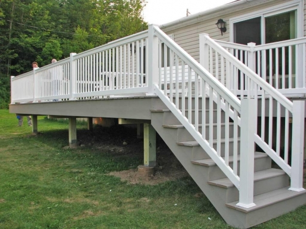 Deck Vinyl Stair Railing Kits Picture 73