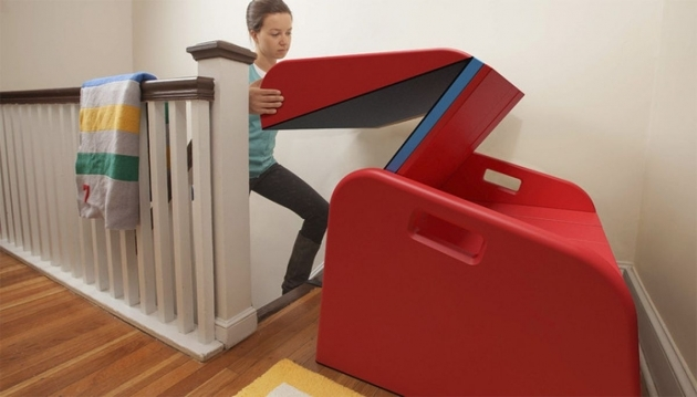 Foldable Slide For Stairs The SlideRider Makes Your Stairs Into A Slide Pictures 35