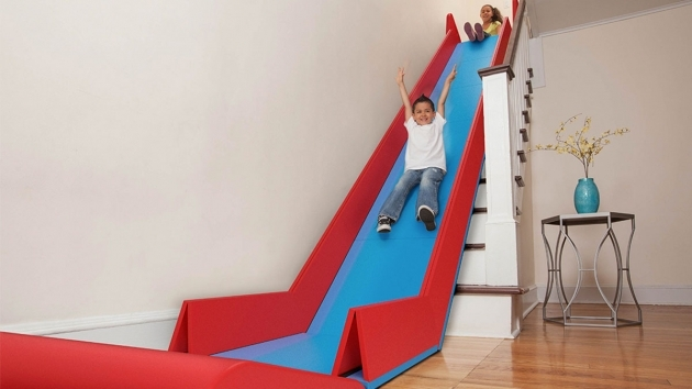 Foldable Slide For Stairs   The Sliderider Picture 01