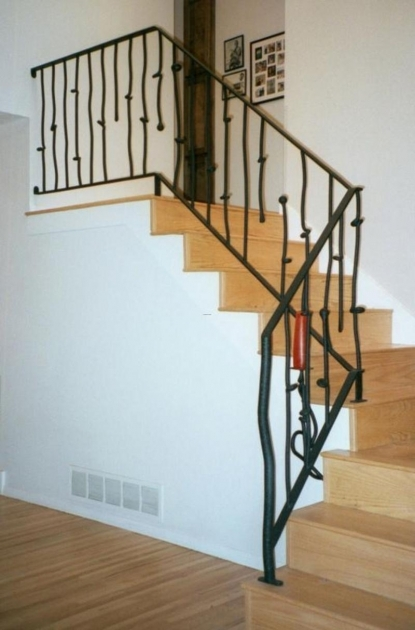Fresh Contemporary Interior Stair Railing Kits Photo 88