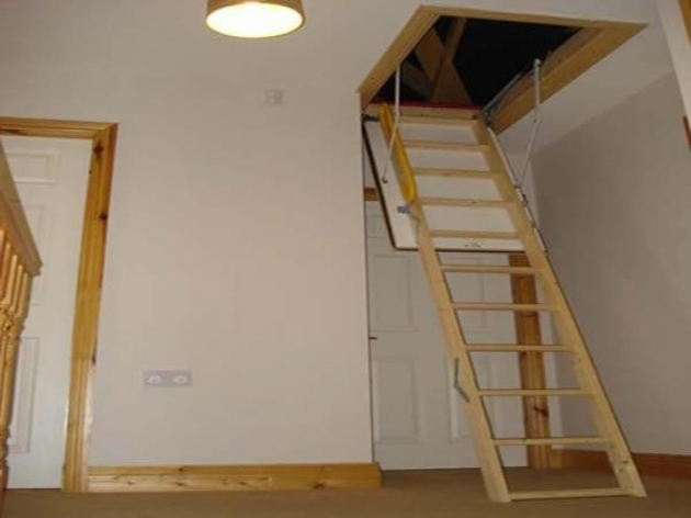 Heavy Duty Attic Pulldown Stairs Picture 52