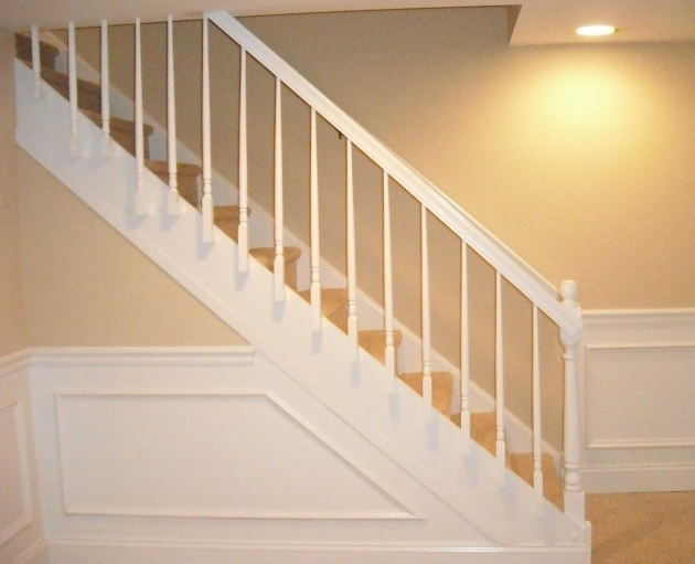High Quality Replacing Basement Stairs Image 21