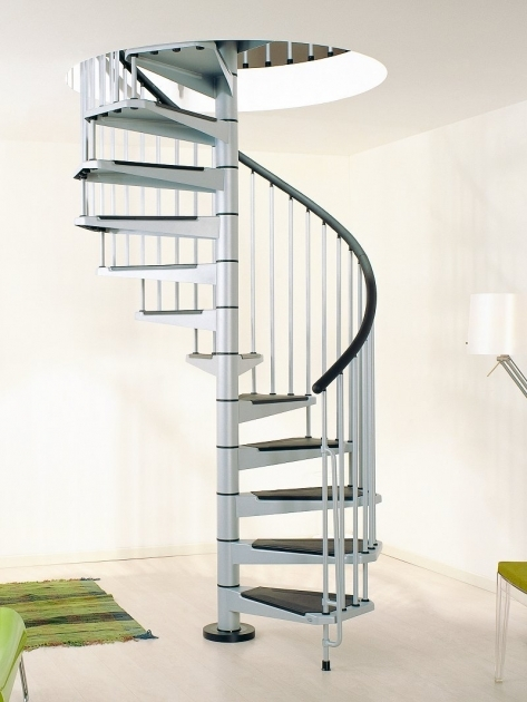 Home Interior Decor Idea Stair Pole With Spiral Staircase Designed With White Pole Base Plus Black White Steps Pictures 28