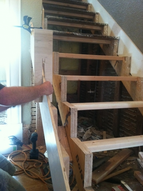 How To Cut Stair Stringers Mitered Risers Pictures 98