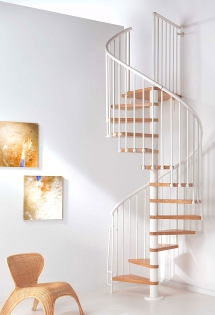 Interior Balcony Ladder Cheap Spiral Staircase Photo 40