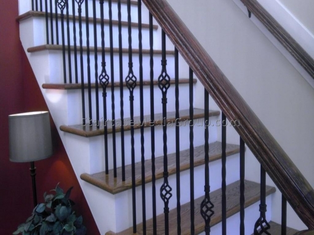 Interior Stair Railing Kits Ideas Design Photo 39