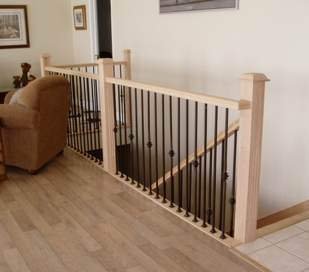 Interior Stair Railing Kits Inspiration Design Wood Brown Wooden Stack Loft Images 38