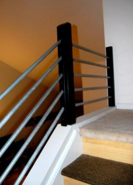Interior Stair Railing Kits New Stair Rail Cable Wrought Photo 02
