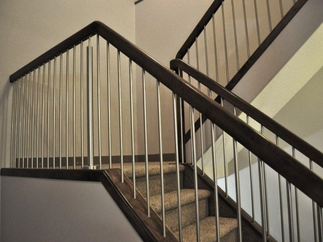 Interior Stair Railing Kits Wood And Metal Photos 68