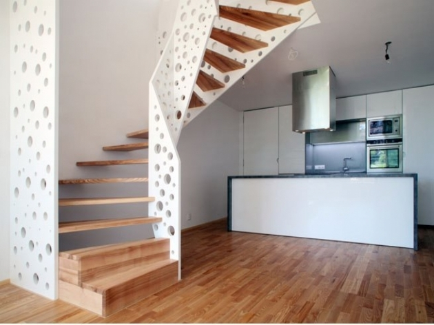Kitchen Room Design Interiors Stair Design For Small House Pictures 52