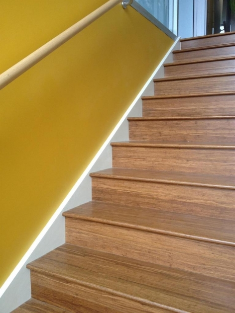Laminate Stair Treads Bamboo Flooring Installation Photo 03