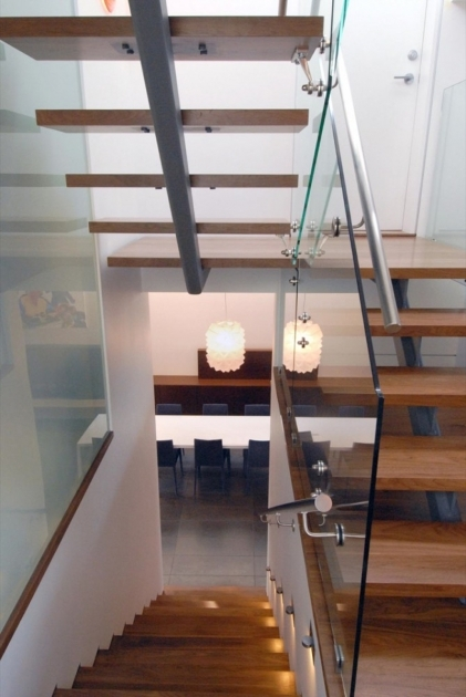 Loft Staircase Design Ideas Modern Exotic Space Saving Stair Design With Glass Baluster Interior Photos 21
