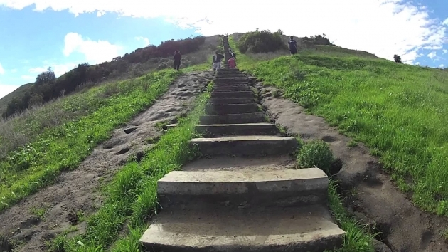 Modern Culver City Stairs Hike Baldwin Hills Scenic Overlook Picture 05