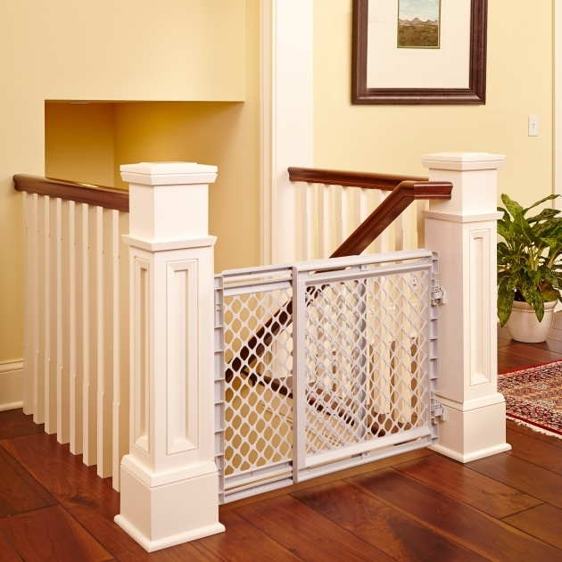 North States Plastic Pet Gates For Stairs Photos 36