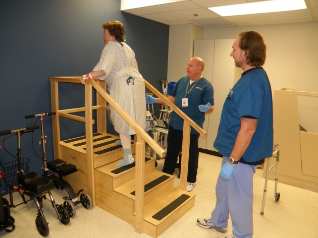 Physical Therapy Stairs Midget Mustang Project Images 74