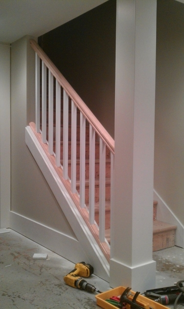 Replacing Basement Stairs Ideas Photos 36