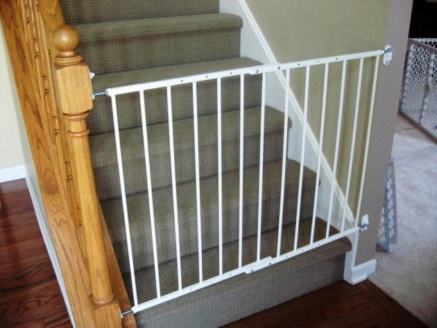 Safety Gates For Stairs With Railing  Images 23