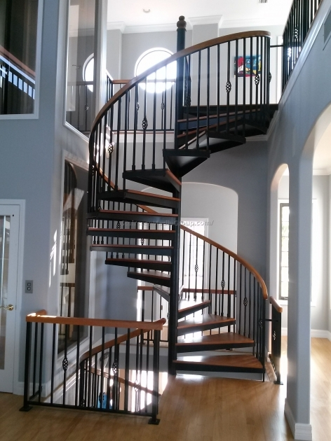 Salter Spiral Stair Fabrication Ideas Design Photo 10