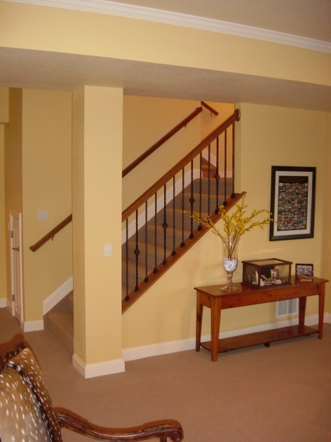 Small Replacing Basement Stairs Picture 51