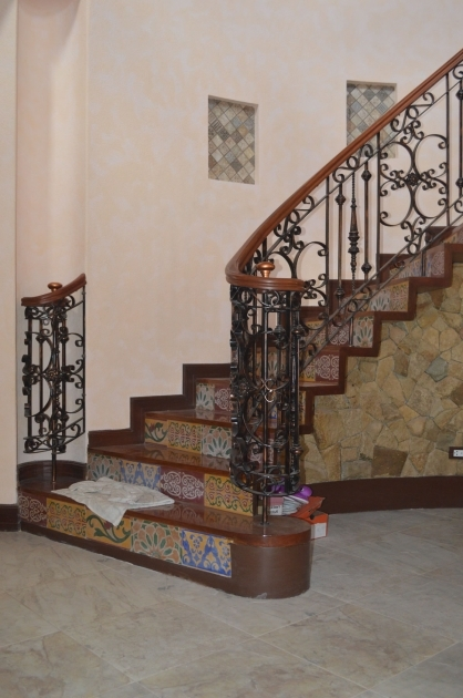 Stair Railing Mediterranean Design Ideas Stair Grill Design 49