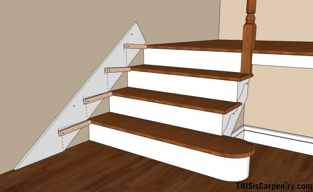Stair Skirt Trim Scribing Skirt Boards Stair Skirt Trim 47