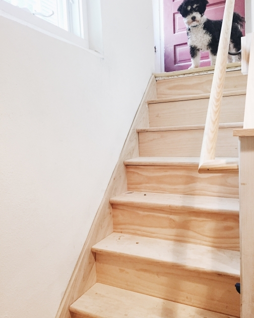 Stair Skirt Trim Staircase Makeover Stair Skirt Trim 10